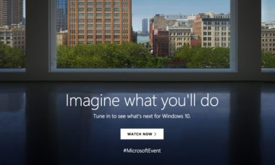 Sigue con nosotros el evento de Microsoft: Windows 10 y Surface 57