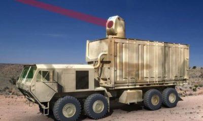 Los primeros vehículos armados con rayos láser llegarían en 2017 38