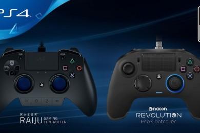 Estos son los primeros mandos oficiales de terceros para PS4