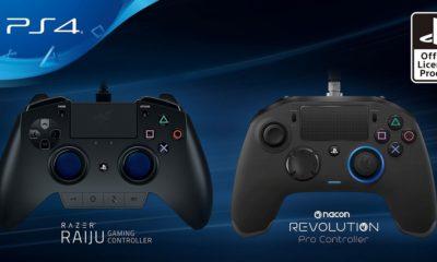 Estos son los primeros mandos oficiales de terceros para PS4 56