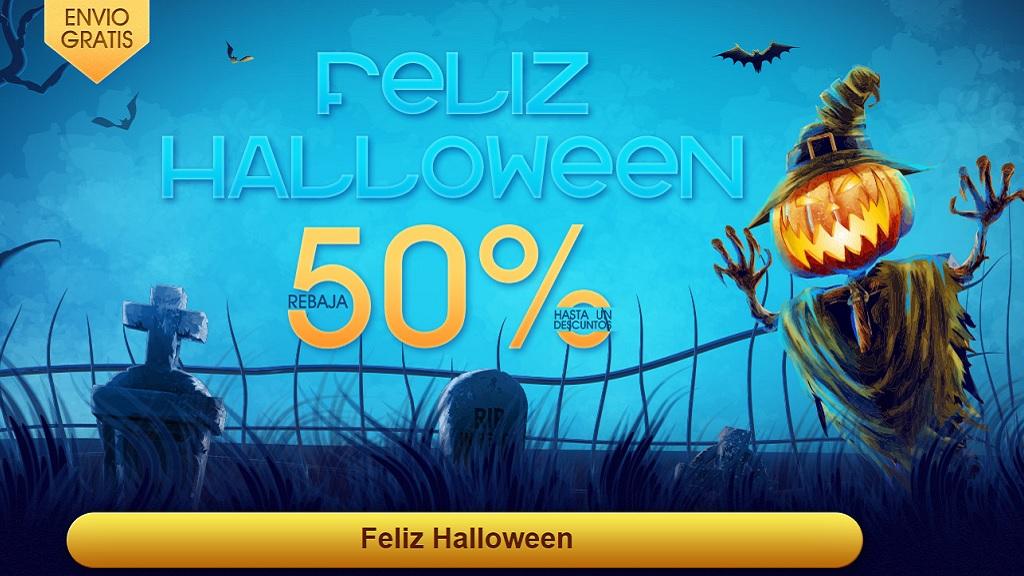 Gearbest mejora su servicio en España y abre ofertas especiales por Halloween 29