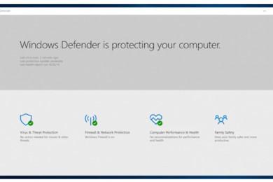 Microsoft desarrolla nuevo antivirus Windows Defender