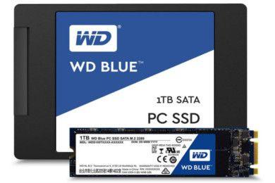 Nuevos SSDs WD Blue y WD Green, especificaciones y precios
