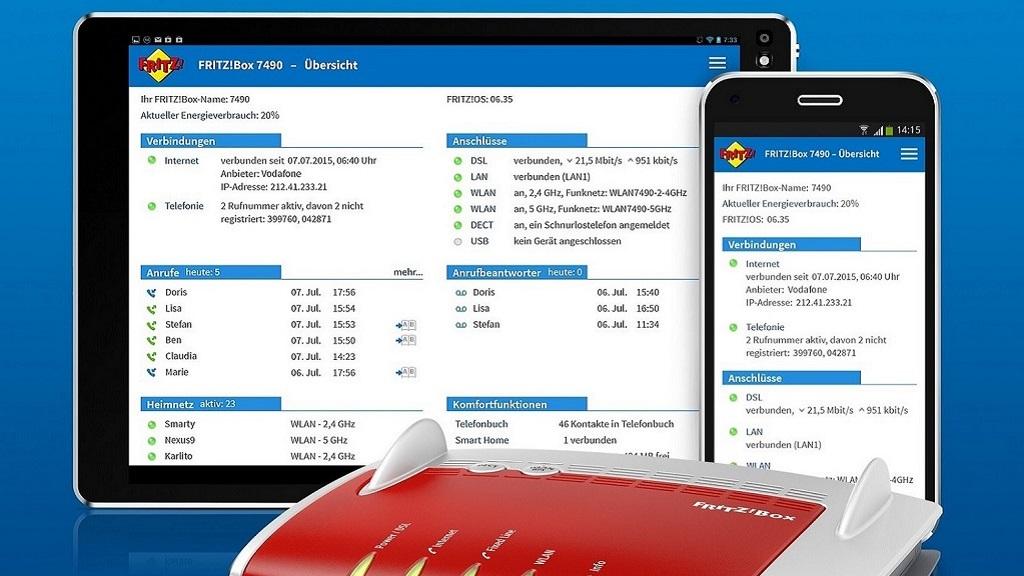 FRITZ!Apps, el software como valor añadido en un router 27
