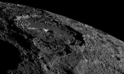 ¿Por qué brilla tanto el cráter Occator del planeta enano Ceres? 38