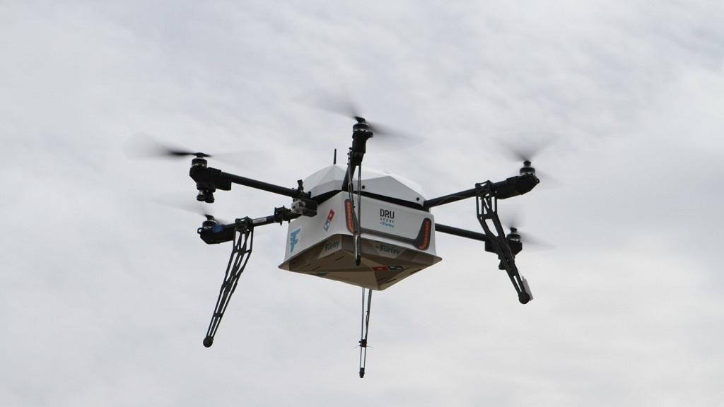 Domino´s Pizza empieza a repartir pedidos utilizando drones 30