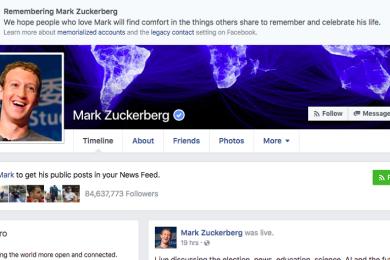 """Facebook pide perdón por haber """"matado"""" a casi todo el mundo"""