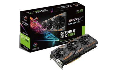 ASUS presenta la nueva GeForce GTX 1080 STRIX A8G 125