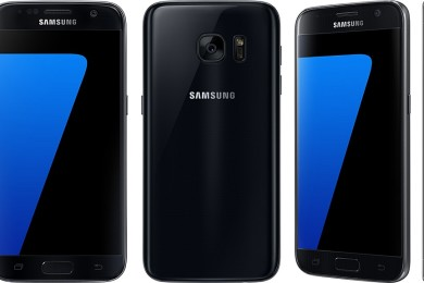 Samsung podría presentar un Galaxy S7 en negro brillante