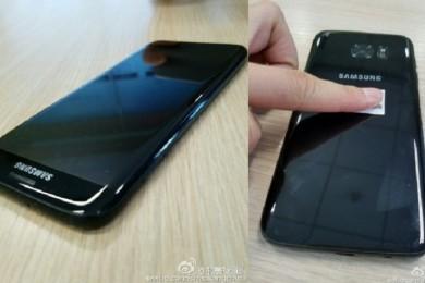 Primeras imágenes del Galaxy S7 Edge en negro brillante