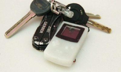 La Game Boy Color más pequeña del mundo cabe en un llavero 54