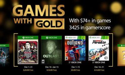 Juegazos gratis con el Games with Gold de diciembre 43