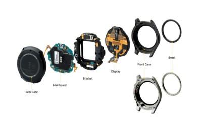 Samsung publica su propio despiece del smartwatch Gear S3