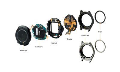 Samsung publica su propio despiece del smartwatch Gear S3 35