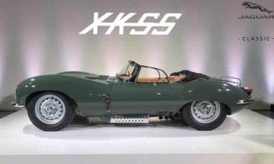 El Jaguar XKSS de 1957 vuelve a la línea de producción 34