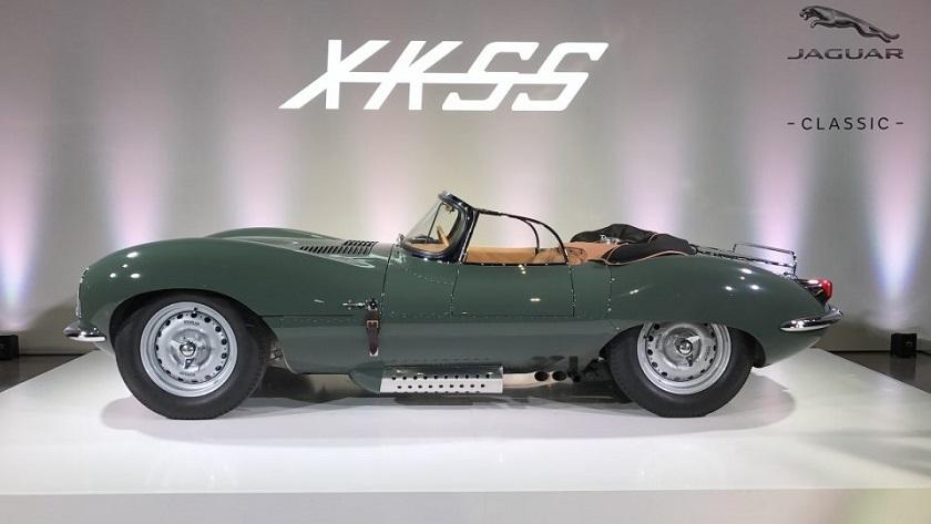 El Jaguar XKSS de 1957 vuelve a la línea de producción 36