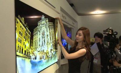 Nuevos detalles de la televisión OLED de 1 mm de grosor de LG 108