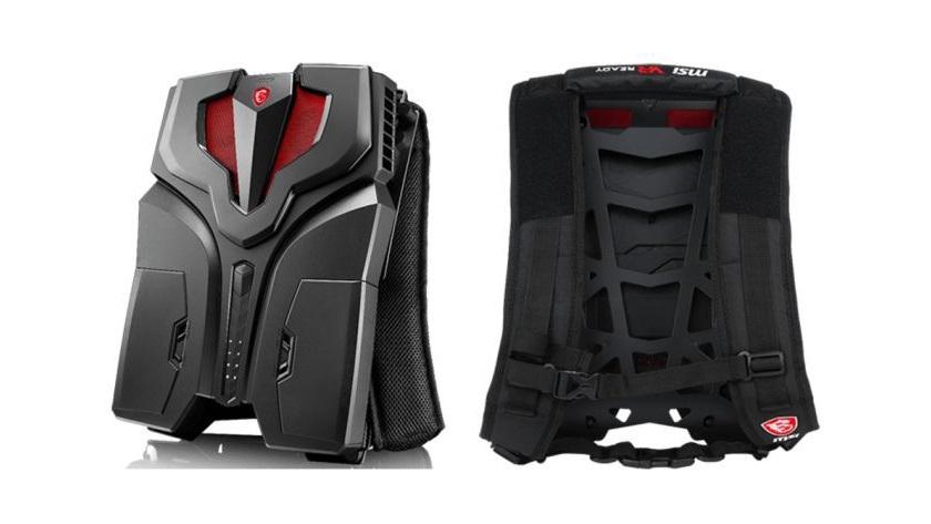 MSI VR One, potente mochila-PC ya disponible por 1.999 dólares 27