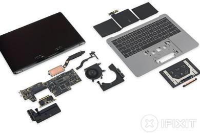 iFixit desmonta el nuevo MacBook Pro sin Touch Bar