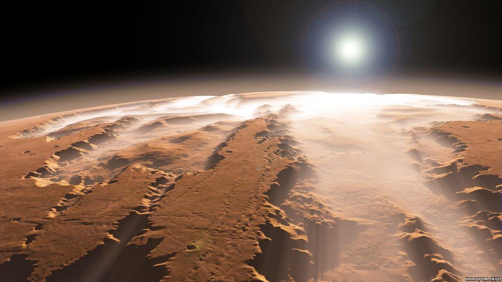 Marte esconde una enorme capa de hielo 32