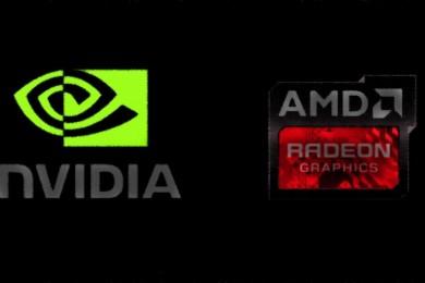 Evolución de la cuota de mercado de NVIDIA y AMD desde 2002 a 2016