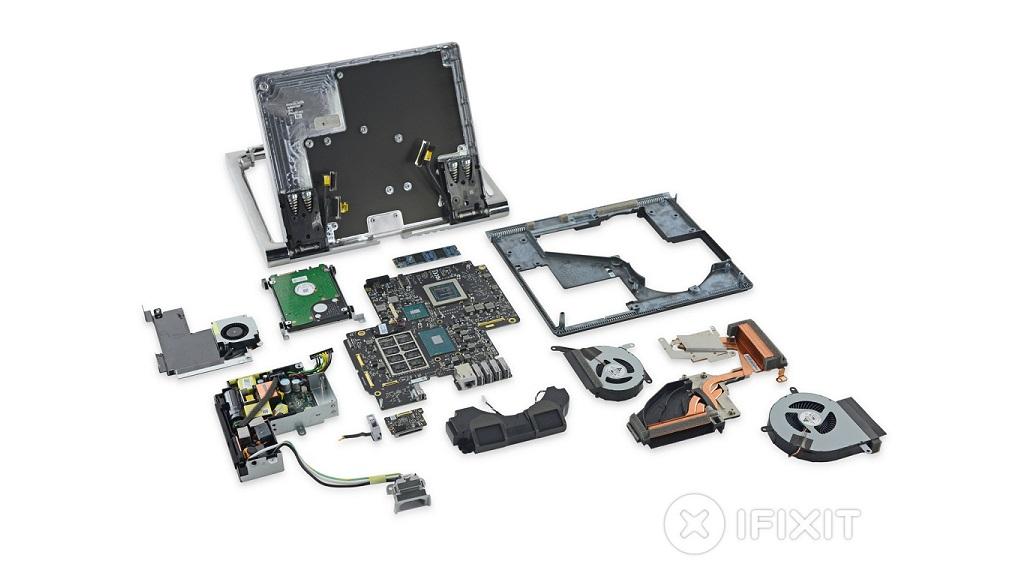 Desmontan la Surface Studio, encuentran un procesador ARM 30