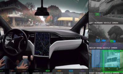 Esto es lo que ve el AutoPilot de Tesla cuando se encarga de la conducción 54