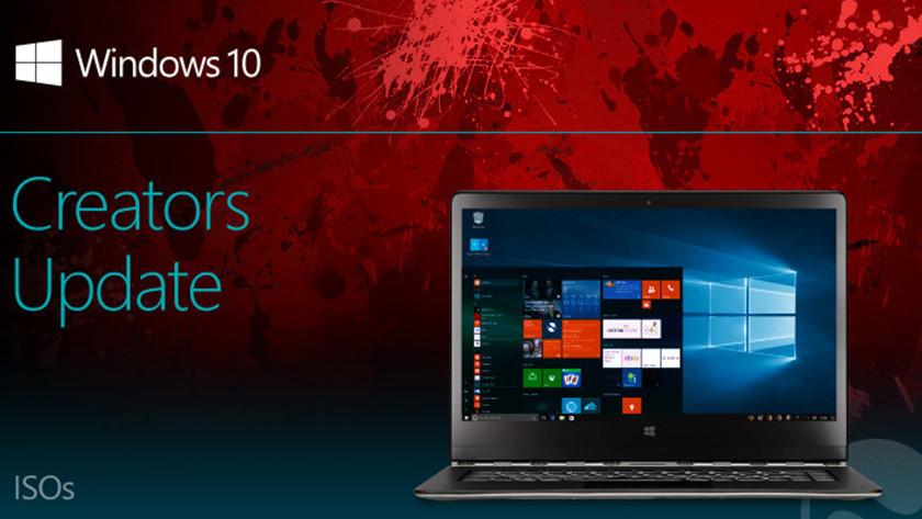 ISO de Windows 10 Creators Update