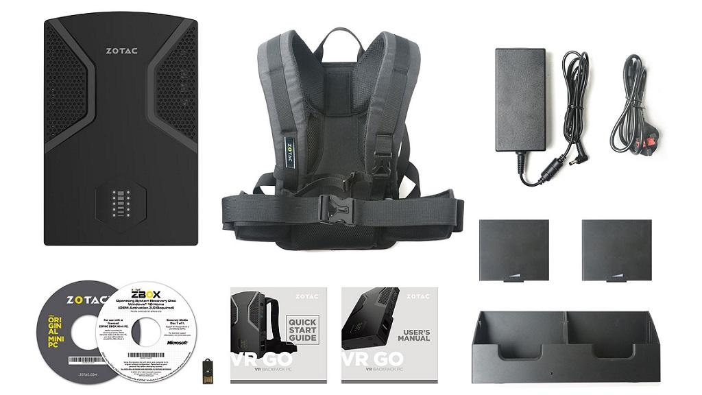 ZOTAC presenta su nueva mochila VR GO, especificaciones 29