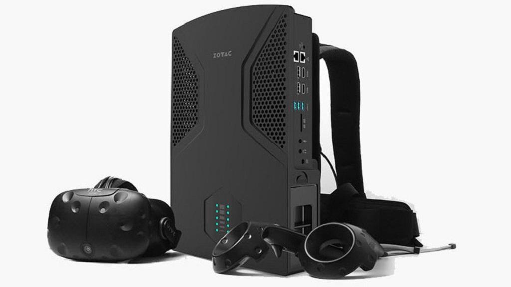"VR GO backpack PC, la ""mochila"" para realidad virtual de Zotac 30"