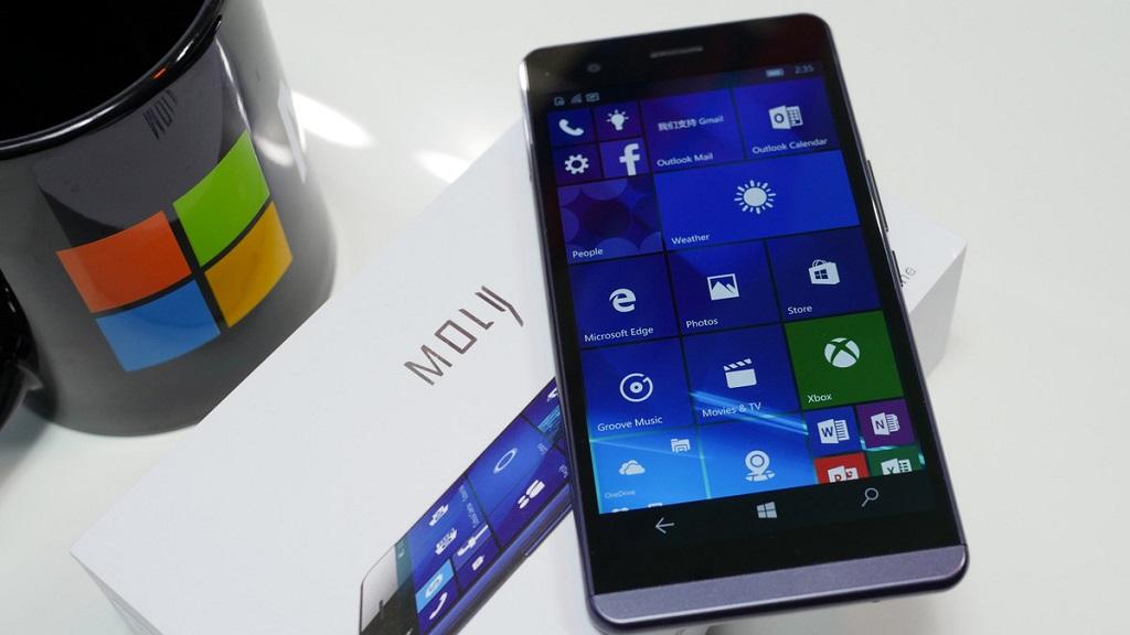 Moly X1, smartphone con Windows 10 Mobile que busca financiación 31
