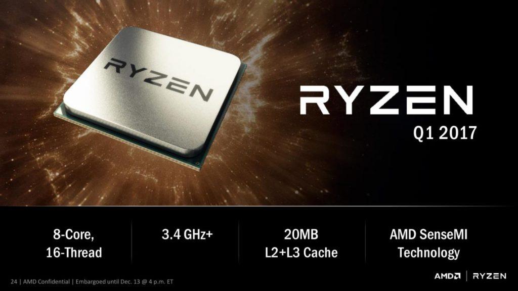 RYZEN rinde hasta un 60% más que un FX 8370, menos consumo 27