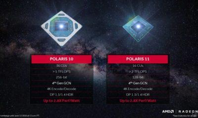 Polaris 12 de AMD aparece en los drivers para Linux 38