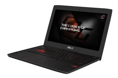 Especificaciones y precios de los portátiles ASUS con Kaby Lake y GTX 1000