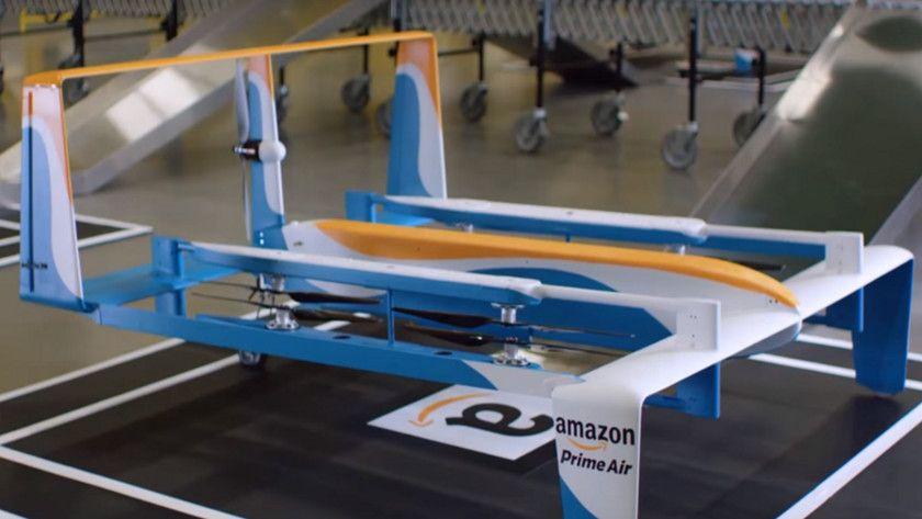 Amazon repartirá pedidos desde el cielo 28