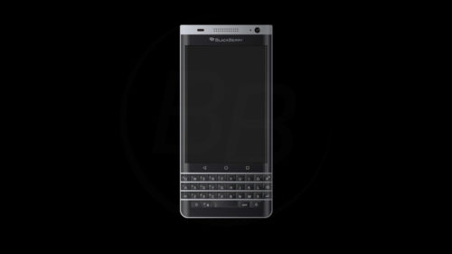 Imágenes de BlackBerry Mercury con teclado físico a la antigua usanza
