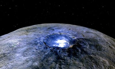 Según la NASA Ceres está lleno de sorpresas, y también de agua 70