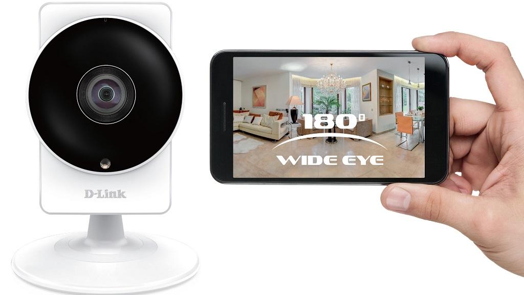 D-Link anuncia su nueva cámara WiFi DCS-8200LH de 180 grados 30