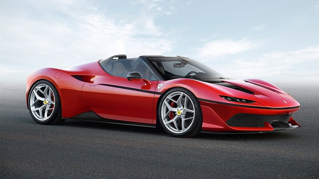 Ferrari J50, un supercoche de ensueño limitado a 10 unidades 30