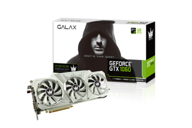 Nuevo récord, la GALAX GeForce GTX 1060 HOF llega a 3 GHz en la GPU