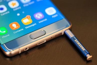 Samsung limitará la carga del Galaxy Note 7 al 30% en Europa