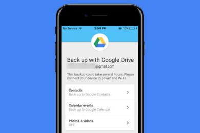 Google Drive facilita ahora la migración de iOS a Android