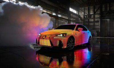 Lexus nos sorprende con un coche que suma 41.999 LEDs programables 132