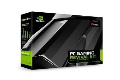 NVIDIA anuncia PC GAMING REVIVAL KIT: tarjeta gráfica, SSD y fuente
