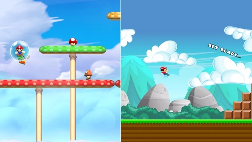 Super Plumber Run, empiezan a llegar los clones de Super Mario Run 29