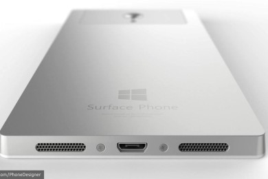 Nuevos renders de un posible Surface Phone de Microsoft