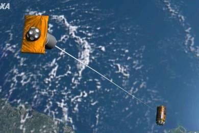 Japón lanza el primer sistema para limpiar la basura espacial