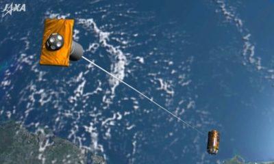 Japón lanza el primer sistema para limpiar la basura espacial 75