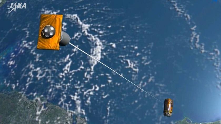 Japón lanza el primer sistema para limpiar la basura espacial 31