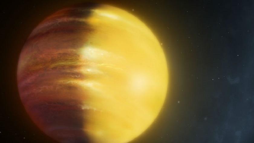 Nubes de zafiro y rubí en el exoplaneta HAT-P-7b 30